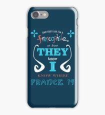 Francophile iPhone Case/Skin
