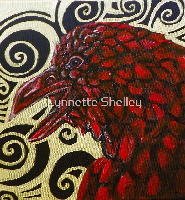 Raven in Red by Lynnette Shelley