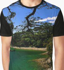Durgan Beach. (Helford River). Graphic T-Shirt