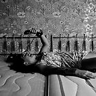 Sore and Crucified- Self Portrait Abandoned Hotel, NY by kailani carlson