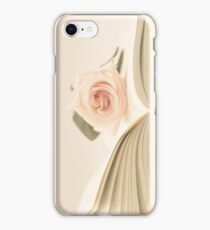 Book and Rose  iPhone Case/Skin