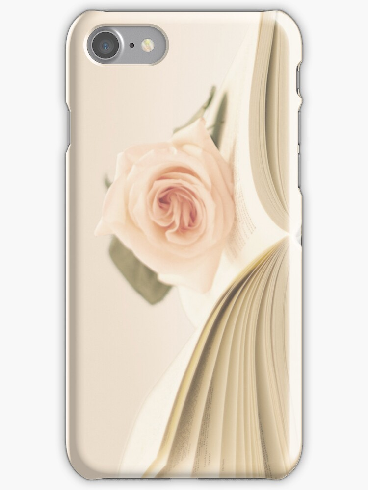 Book and Rose  by Caroline Mint