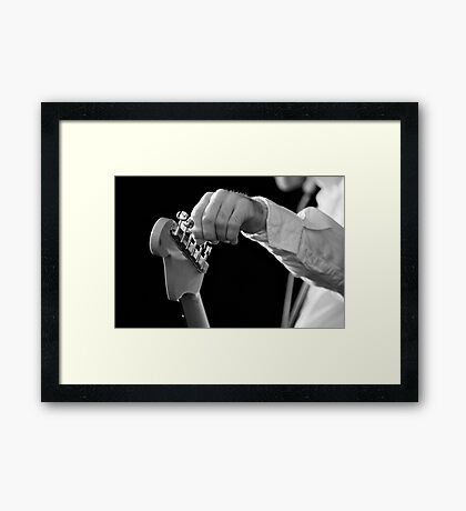 For Better Sound Framed Print