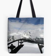 Aiguille Du Midi Tote Bag