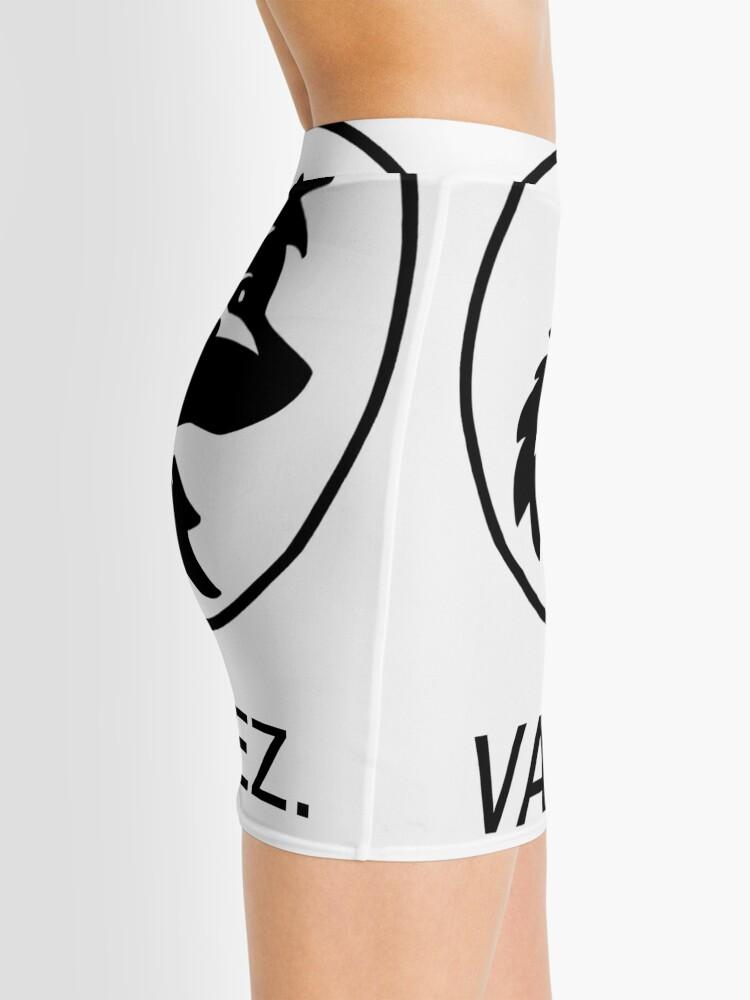 Vista alternativa de Minifalda Logotipo simple