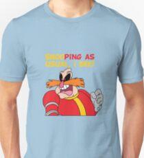 "Robotnik ""SnooPing As usual"" Unisex T-Shirt"