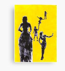 Girls Girls Girls Canvas Print