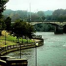 Columbus, Chattahoochee River Walk  by Linda Yates