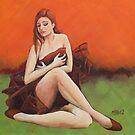 Crimson Dancer by Michael Beckett