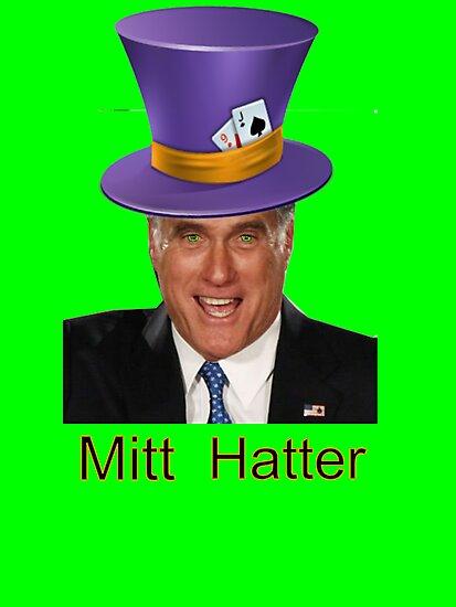 Mitt Romney 2012 mad Hatter by Tia Knight