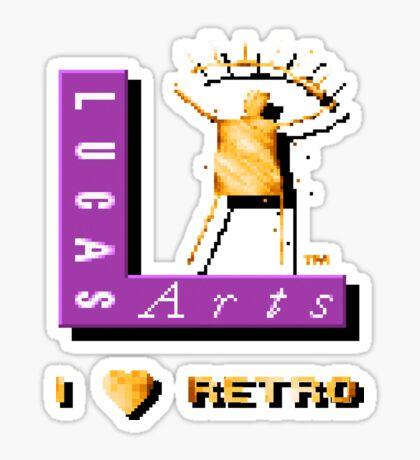 I love LucasArts Sticker