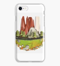 Cartoon Landscape iPhone Case/Skin