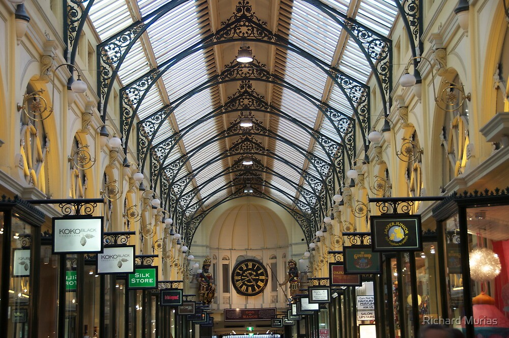 Royal Arcade, Melbourne by Richard Murias