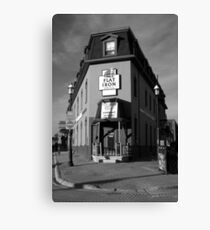 The Flat Iron Grill, Barrie , Ontario, Canada Canvas Print