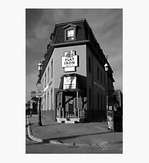 The Flat Iron Grill, Barrie , Ontario, Canada Photographic Print