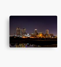 Skyline - Fort Worth, TX Canvas Print
