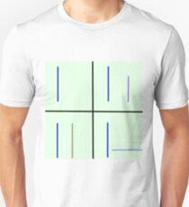 Minimalist loss pattern T-Shirt