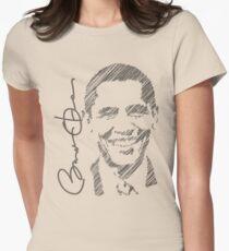 Obama Sketch 2012 Women's Shirt T-Shirt