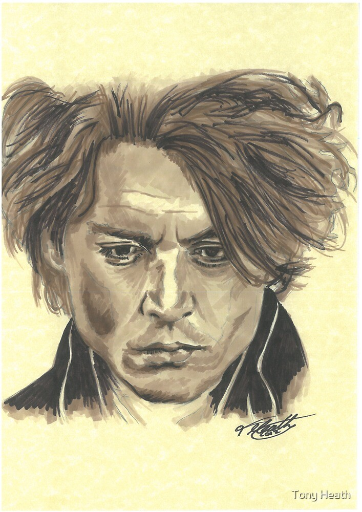 Johnny Depp - Ichabod Crane by Tony Heath