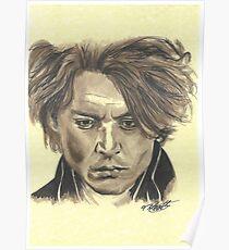 Johnny Depp - Ichabod Crane Poster