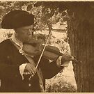 Colonial Violinist by Jane Neill-Hancock