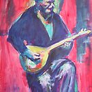 Guitar man by christine purtle