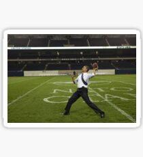 Obama rugby. Sticker