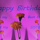 Happy Birthday - Best Friend and Sister! by aprilann