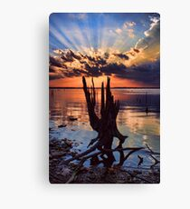 Sunset On Steroids Canvas Print