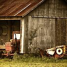 Tractor by Richard Lee