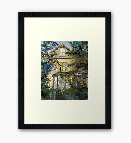 Ivy street Framed Print