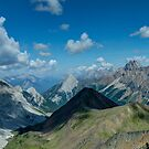 Up on Pocaterra Ridge by Justin Atkins