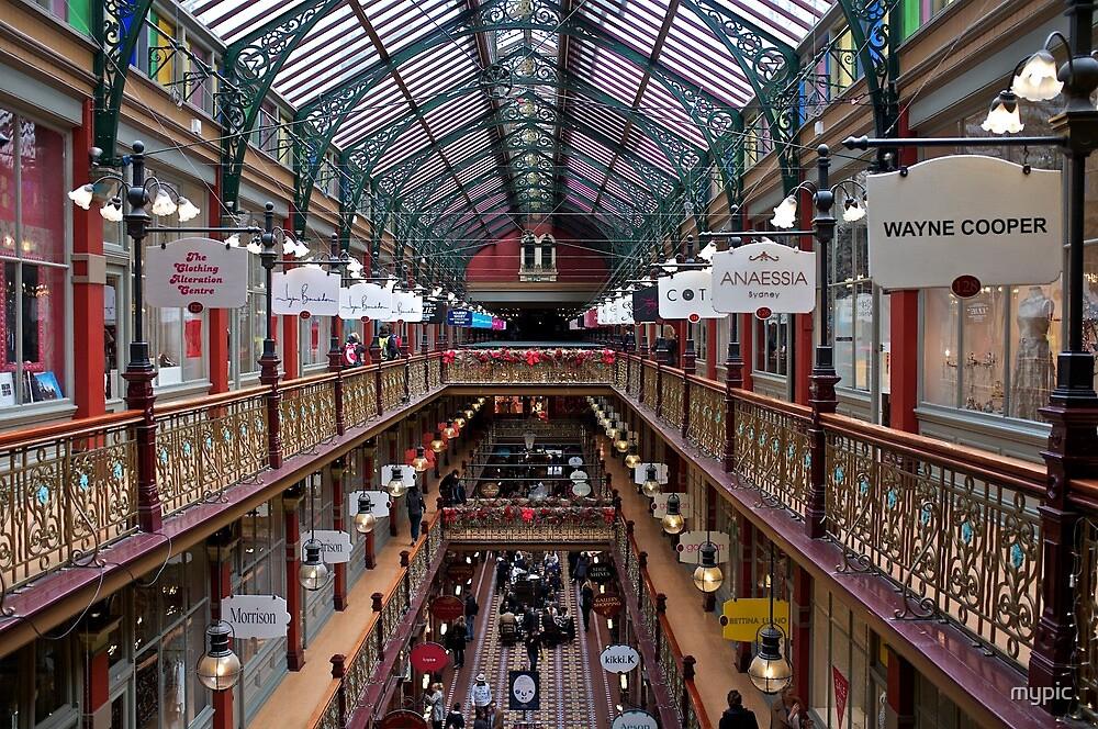 Indoor Landscape:_old arcade Sydney by mypic