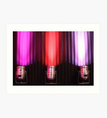 Pink Lights Art Print