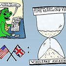 Assange and the Ecuadorian Embassy cartoon by bubbleicious