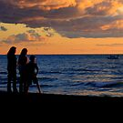Sunset Enthusiasts by Greta  McLaughlin