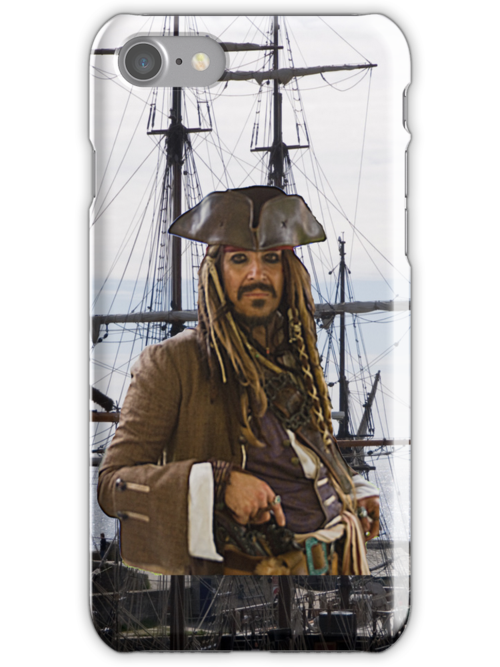 Pirate iPhone Case by Country  Pursuits