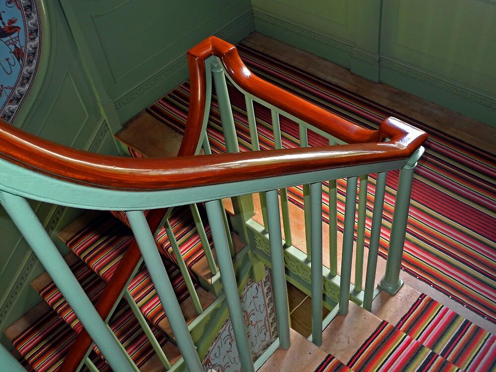 Banister by Lynda Lehmann