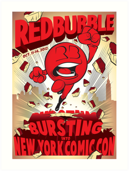 NYCC Poster Contest Entry by JenSnow