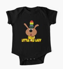 "Chorlton-""Hello, Little Old Lady"" One Piece - Short Sleeve"