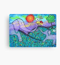 Lienzo Elephant Love