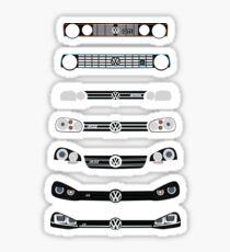 VW Golf Sticker