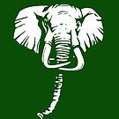 elephant t-shirt by parko