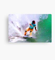 Julian Wilson Winner-US Open of Surfing 2012 Canvas Print