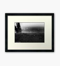 Wash Framed Print