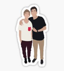 Jack and Jack Sticker