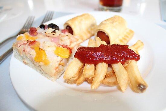 Yummy Food by Louis Delos Angeles