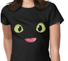 Toothless Face Womens Fitted T-Shirt