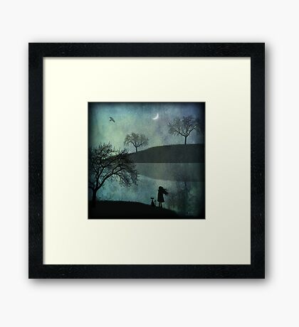Studio Canvas - Silhouette Framed Print
