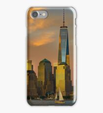 Sunset from Liberty Park iPhone Case/Skin